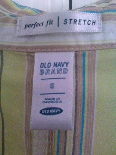 Old Navy Top Green and Brown