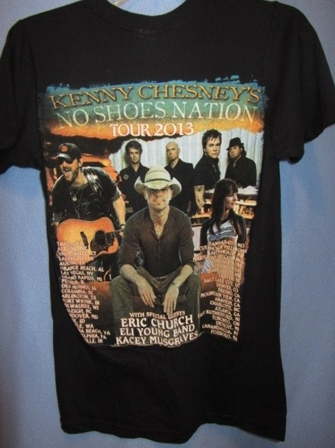kenny chesney T Shirt black
