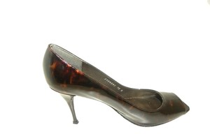 Stuart Weitzman Peep Toe Chocolate brown Pumps