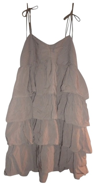 H&M short dress Light Mossy Brown, Taupe. Tiered New Flouncy on Tradesy