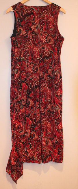Kathie Lee Collection short dress Red Paisley on Tradesy