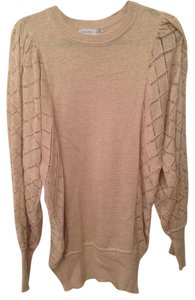 Juliana Jabour short dress Gold Dolman Sleeve Sweater Boho on Tradesy