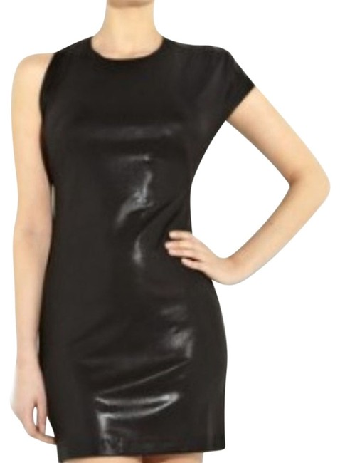 Kimberly Ovitz Edgy Textured Sleek Dress