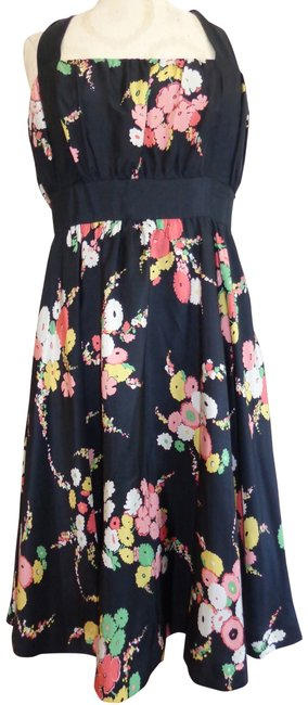 Moulinette Soeurs short dress Black/Coral/Celedon/Yellow/White on Tradesy