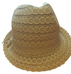Shop Bop Shop Bob White Lace Fedora