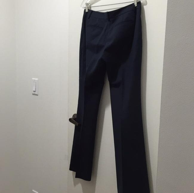 Tahari Relaxed Pants Navy Blue