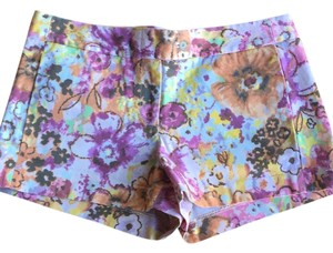 J.Crew Mini/Short Shorts Multicolor, Floral Print