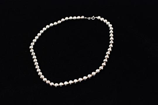 Other Polished Sterling 925 Silver Ball NECKLACE Strung on Silver Box Chain 19