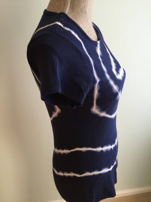 Other Tie Dye Tie Dye Tops Sleeve Tops Size Small T Shirt Navy/White