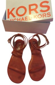Michael Kors Burnt orange Sandals