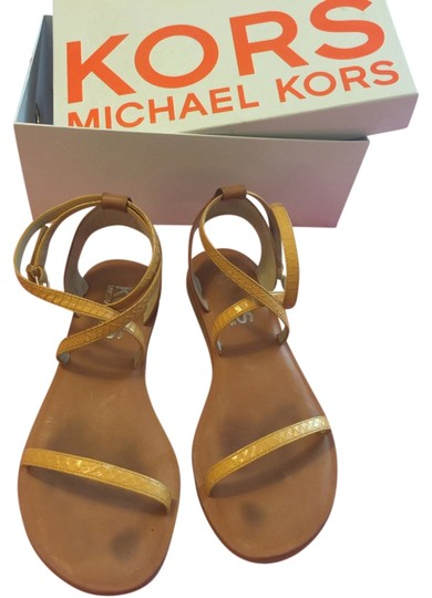 Michael Kors Marigold/tan Sandals