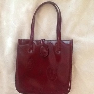 Cartier Tote in Burgundy