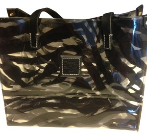 Dooney & Bourke Tote in Clear Zebra Print