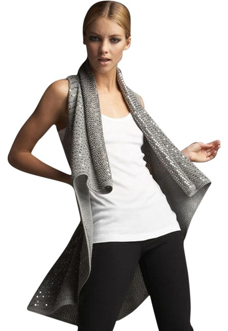 Preload https://item4.tradesy.com/images/alice-olivia-silver-sequined-cascade-vest-size-os-one-size-5468278-0-1.jpg?width=400&height=650