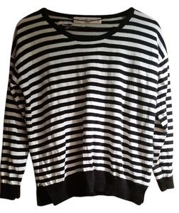 fd26d139 Zara Flash Sale Knit Striped Black White Sweater - Tradesy