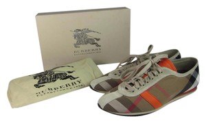 Burberry House Check Leather Coral Athletic