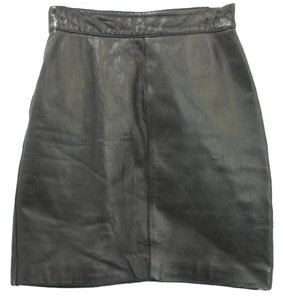 MAIA COLANI Pencil Skirt BLACK