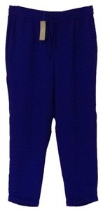 J.Crew Relaxed Pants Blue violet