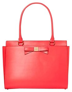Kate Spade Satchel in Geranium (Bright Coral)
