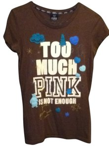 Victoria's Secret T Shirt Brown
