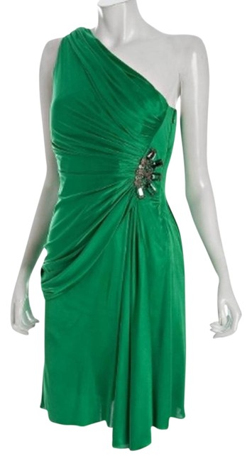Preload https://item5.tradesy.com/images/marc-bouwer-kelly-green-glamit-jersey-one-shoulder-brooch-above-knee-cocktail-dress-size-4-s-5469829-0-1.jpg?width=400&height=650