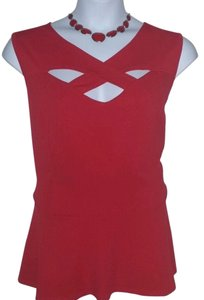 Ashley Stewart Top RED