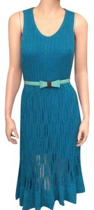 Cynthia Rowley short dress turquoise on Tradesy