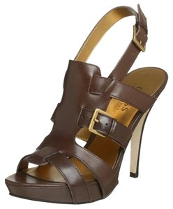 Guess Platform Gladiator Brown Platforms