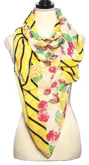 Other Polyester Woven Modal Touch Flower Print Scarf