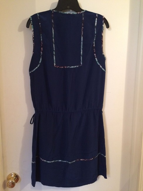 BCBGMAXAZRIA short dress Blue on Tradesy