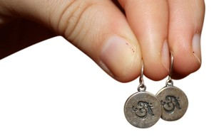 Other Yoga Inspired 'OM' Earrings