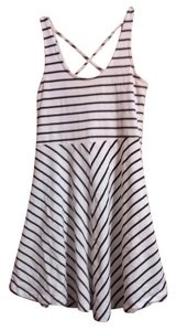 Other short dress black and white Stripes Striped Fun Cute Summer on Tradesy