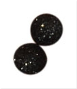 Target Black Shimmer Sequin Post Earrings
