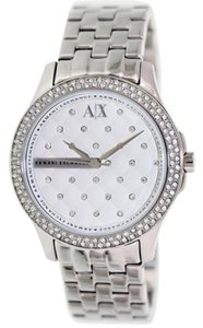 A|X Armani Exchange Armani Exchange Women's AX5215 Silver Stainless-Steel Quartz Watch