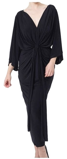 Preload https://item1.tradesy.com/images/t-bags-los-angeles-black-draped-knot-long-casual-maxi-dress-size-8-m-5472370-0-0.jpg?width=400&height=650