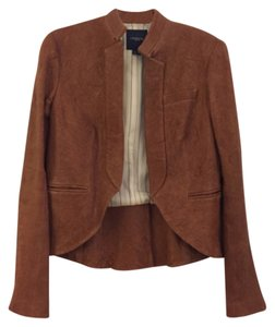 Gryphon Tan Leather Jacket