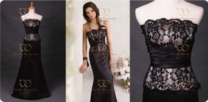 Jim Hjelm Occasions Black And White Style #5735 Dress