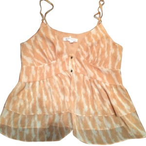 BCBGeneration Top White and Peach