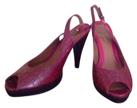 Linea Paolo Red Sandals