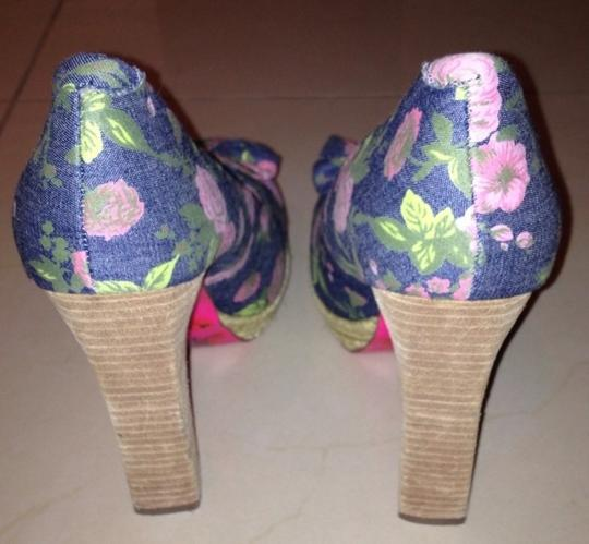 Betsey Johnson Denim Blue Pumps