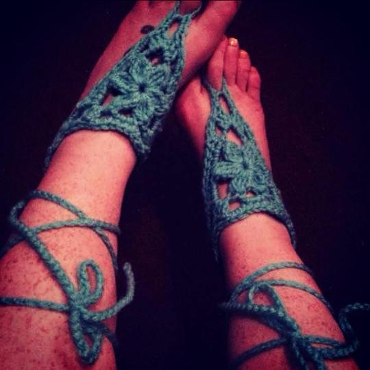 Other Turquoise Kind Of Blue Boots