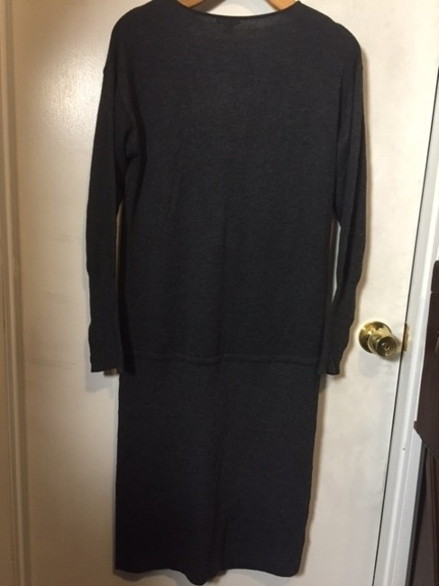 Ann Taylor short dress dark grey on Tradesy