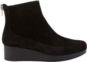 Robert Clergerie Bootie Comfortable Punk Black Suede Boots