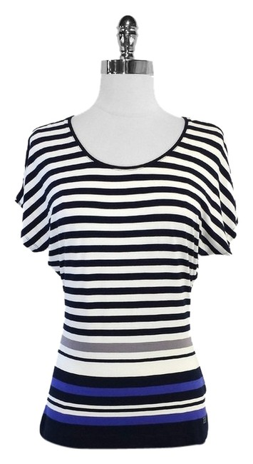 Preload https://item1.tradesy.com/images/escada-navy-and-white-striped-short-sleeve-blouse-size-4-s-5473990-0-0.jpg?width=400&height=650