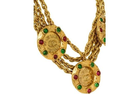 Chanel 1970s Chanel Gripoix Rare Coin Necklace