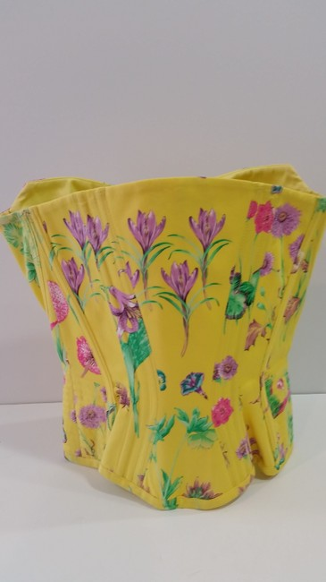 Versace Top Yellow Floral