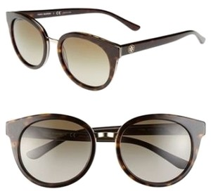 Tory Burch Tory Burch Women's Sunglasses Tortoise Gradient Brown Lenses New with Case