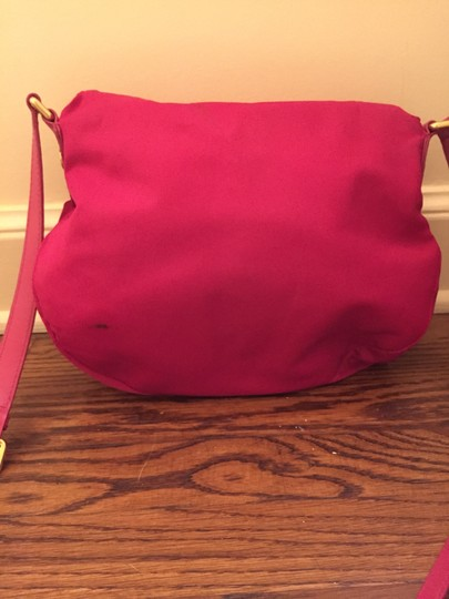 Marc by Marc Jacobs Preppy Nylon Pink Cross Body Bag