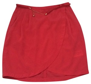 H&M Mini Skirt Salmon