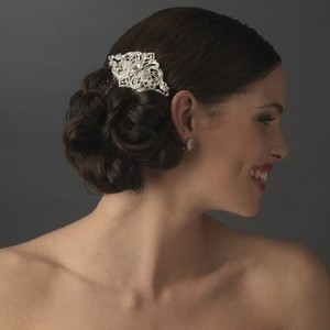 Silver Vintage Inspired Comb Hair Accessory